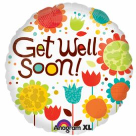 18 INCH CHEERY FLOWERS GET WELL