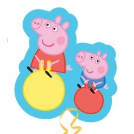 19 INCH X 21 INCH PEPPA PIG & GEORGE
