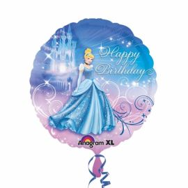 18 INCH CINDERELLA HAPPY BDAY