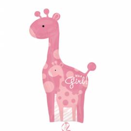 42 INCH BABY GIRL GIRAFFE