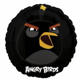 ANGRY BIRDS - BLACK 18 INCH