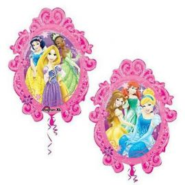 31 INCH PRINCESS FRAME SUPERSHAPE BALLOON
