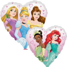 18 INCH PRINCESS MULTI HEART