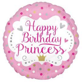 18 INCH HAPPY BIRTHDAY PRINCESS BALLOON