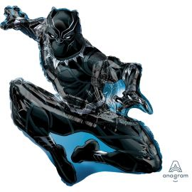 BLACK PANTHER AVENGERS SUPERSHAPE 32 INCH