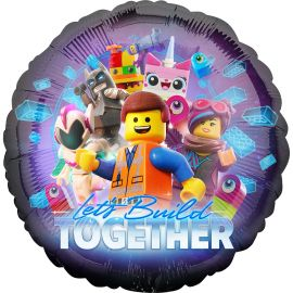 18 INCH LEGO LETS BUILD TOGETHER BALLOON