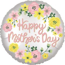 18 INCH HAPPY MOTHERS DAY SPRING FLORAL 3921301
