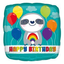 18 INCH HAPPY BIRTHDAY SLOTH 4129001 026635412902
