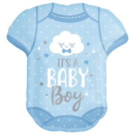 22 INCH BABY BOY ONESIE