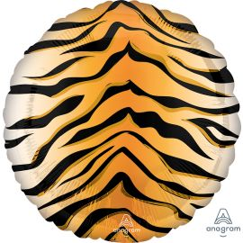18 INCH TIGER PRINT FOIL BALLOONS