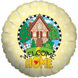 18 INCH WELCOME HOME YELLOW