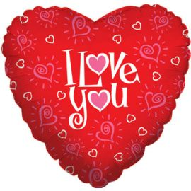 18 INCH I LOVE YOU HEART 030625169677