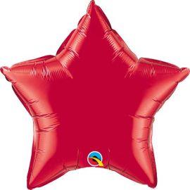 36 INCH STAR RUBY RED