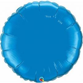 36 INCH ROUND SAPPHIRE BLUE