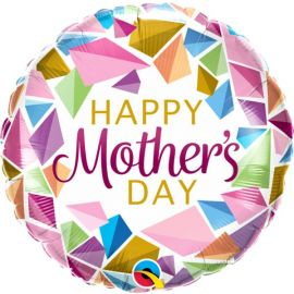 18 INCH HAPPY MOTHERS DAY COLOURFUL GEMS 17533 071444175272