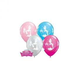11 INCH DISNEY CINDERELLA BALLOON 25CT