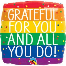 18 INCH GRATEFUL FOR YOU AND ALL YOU DO 18868