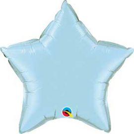 PALE BLUE 36 INCH STAR BALLOON