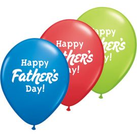 11 INCH HAPPY FATHERS DAY PK OF 50 24362