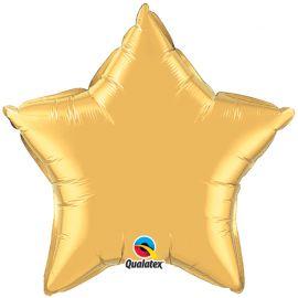 METALLIC GOLD 18 INCH STAR BALLOON