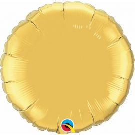 36 INCH ROUND GOLD