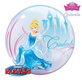 22 INCH BUBBLE CINDERELLAS ROYAL DEBUT