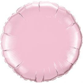 18 INCH PEARL PINK PLAIN FOIL CIRCLE