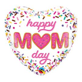 18 INCH MOTHERS DAY HEART SPRINKLES