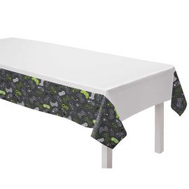 LEVEL UP PAPER TABLECLOTH 1.2M X 1.8M 572948-55