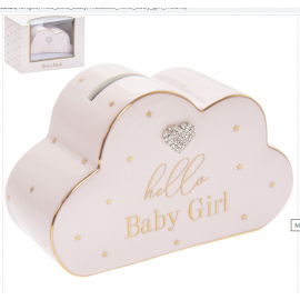 MAD DOTS BABY GIRL MONEY BOX