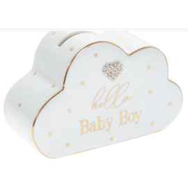 MAD DOTS BABY BOY MONEY BOX