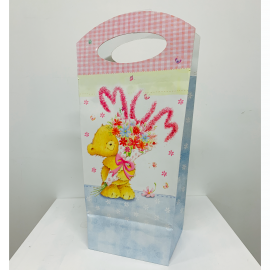 MOTHERS DAY FLOWER OR PLANT GIFT BAG