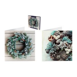 BOX CARDS PHOTOGRAPHIC FOLIAGE PK OF 12
