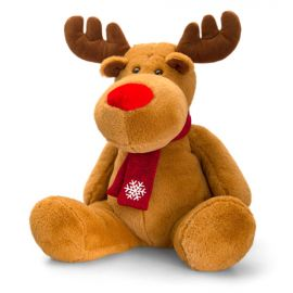 REINDEER WITH SCARF 35CM