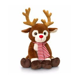 20CM REINDEER WITH SCARF