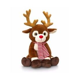 35CM REINDEER WITH SCARF
