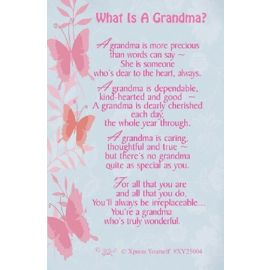 WHAT IS A GRANDMA KEEPSAKE SMALL X6
