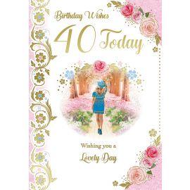 BIRTHDAY WISHES 40 TODAY