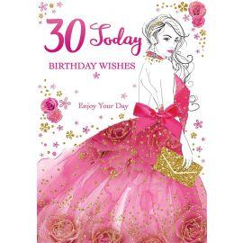 30 TODAY BIRTHDAY WISHES