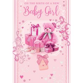 ON THE BIRTH OF YOUR BABY GIRL CODE 50