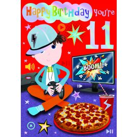 HAPPY BIRTHDAY YOU ARE 11