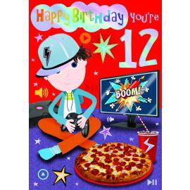 HAPPY BIRTHDAY YOU ARE 12