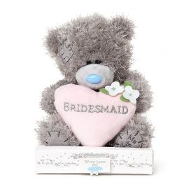 BRIDESMAID HEART PLUSH