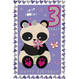 3RD BIRTHDAY PANDA