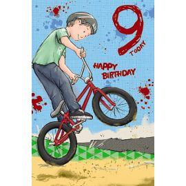9TH BIRTHDAY BOY