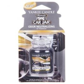 YANKEE CANDLE ULTIMATE CAR JAR NEW CAR SCENT
