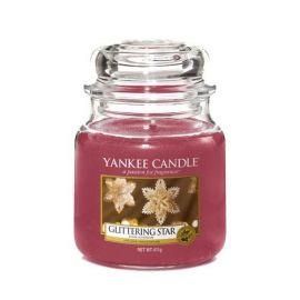 YANKEE CANDLE GLITTERING STAR MEDIUM JAR