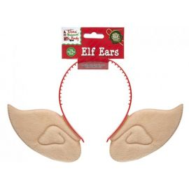PLUSH ELF EARS ON HEAD BAND 520030