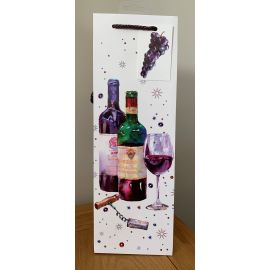 BOTTLE BAG GLASS OF WINE PK OF 6