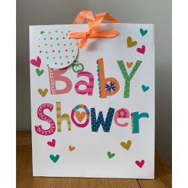 MEDIUM GIFT BAG BABY SHOWER PK OF 6